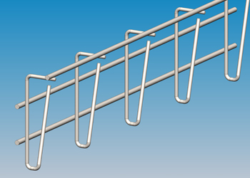 cable trays - for one cable layer