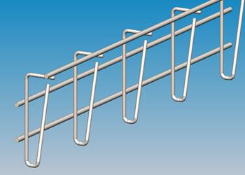 Gitterkabelrinnen - für eine Lage Kabel
