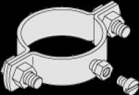 Montagebeschlag D=1,0' S160