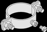 Montagebeschlag D=2,5' S163